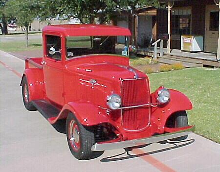 Marilynn's 1934 Ford pickup