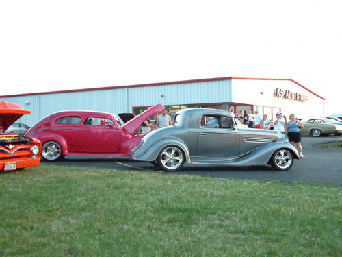 Progressive Automotive custom 1935 Buick chassis upgrade with C4 Corvette IFS & IRS.