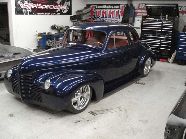 Progressive Automotive custom 1940 Cherolet chassis upgrade