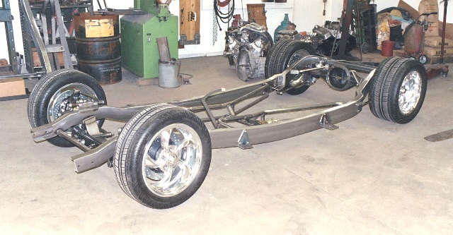 Progressive Automotive 1941-48 Ford chassis with Custom Ride height & optional parts
