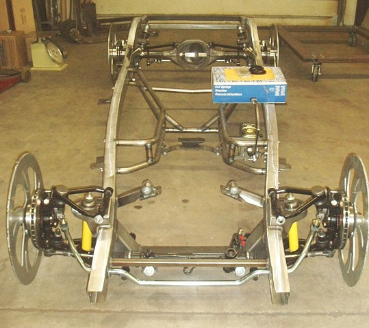 Progressive Automotive 1941-48 Ford Chevrolet chassis with Tubular IFS & Triangulated 4-bar