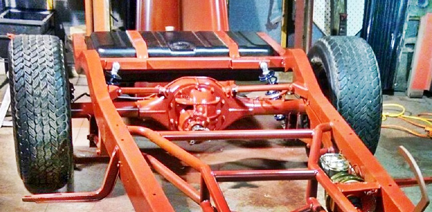 TRB-CTD shown with Ride Tech coil-overs & additional parts