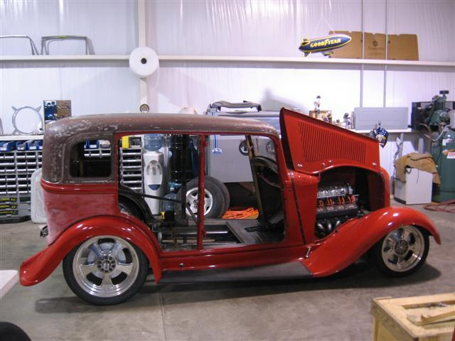 1933 Plymouth featuring Progressive Automotive chassis