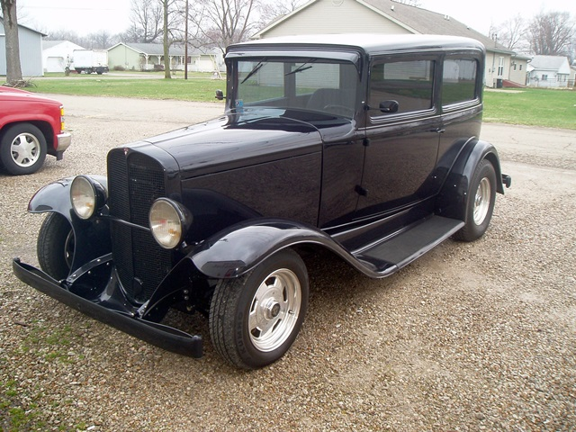 Progressive Automotive custom1931 Pontiac IFS upgrade
