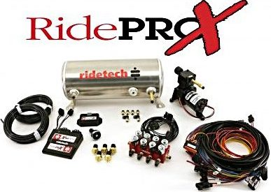 RidePRO-X Air Managment system by Ride Tech, 3 gallon tank/single compressor model shown