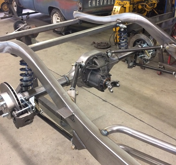 Progressive Automotive 1941-48 Chevrolet chassis with Triangulated 4-bar