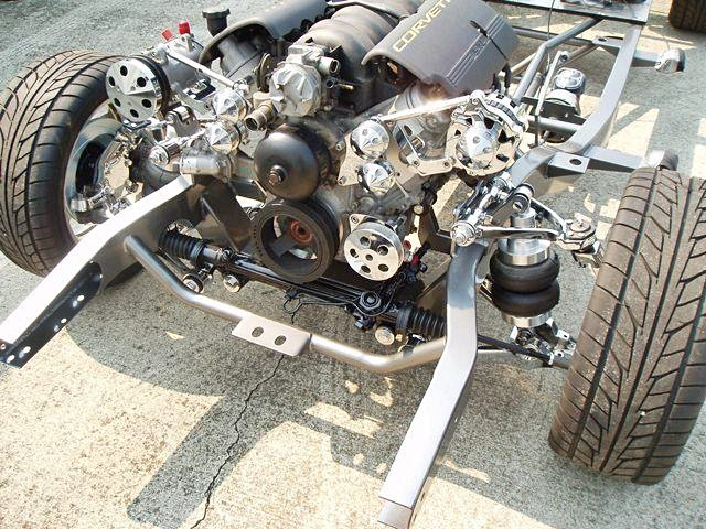 Ride Tech ShockWaves shown with Progressive Automotive VF-55C-96 and additional parts