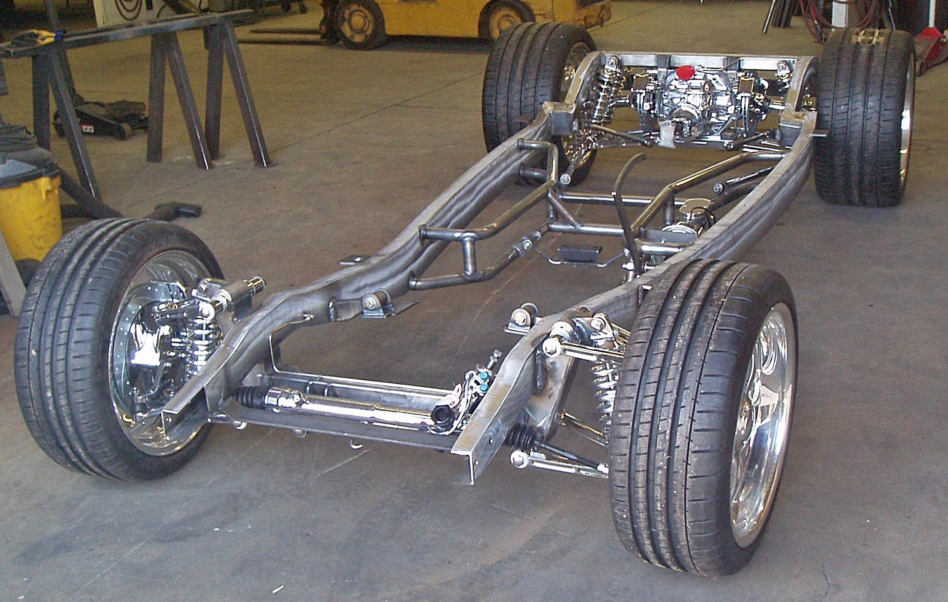 R.S.'s Progressive Automotive Chassis with Kugel suspension