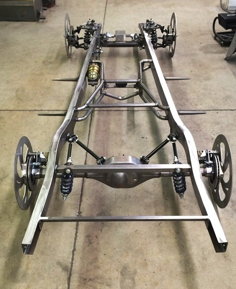 Progressive Automotive 1934-36 Chevrolet Truck Chassis with Optional Parts