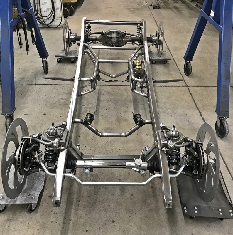 1934 Chevrolet Master Chassis With Optional Parts